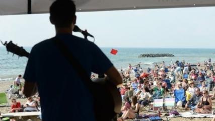 Beach music Erie Pa