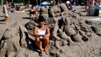 Sand Sculpture Erie Pa