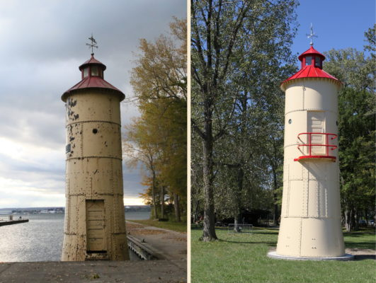 Waterworks Emergency Intake Gear Tower Restoration