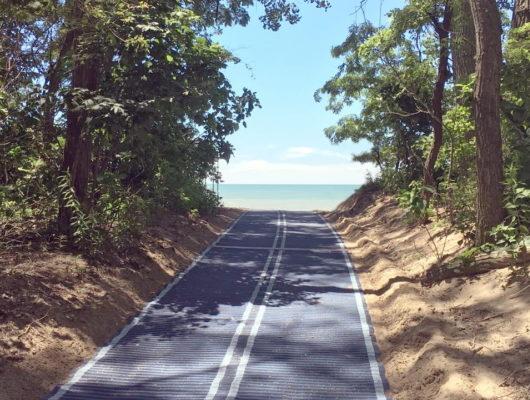 Mobi-Mats = Easier Beach Access